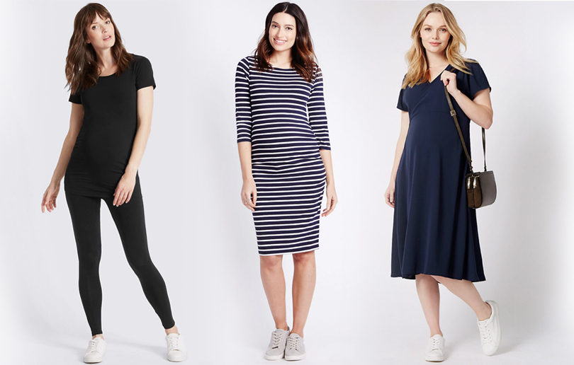 Marks & Spencer's maternity range